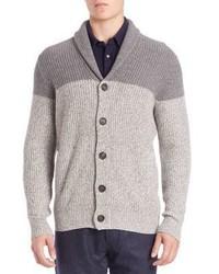 Brunello Cucinelli Ribbed Colorblock Cashmere Sweater