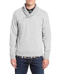 Nordstrom Men's Shop Shawl Collar Fleece Sweatshirt