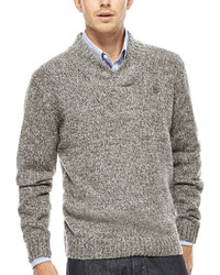 Uspa Us Polo Assn Crossover V Neck Sweater