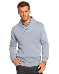 Weatherproof Vintage Sweater Shawl Collar Vintage Cotton Pullover