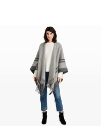 Club Monaco Daylina Striped Shawl