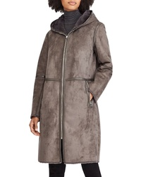 Lauren Ralph Lauren Faux Shearling Duffle Coat