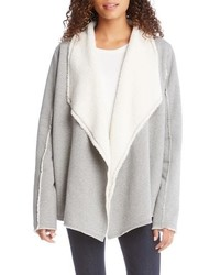 Grey shearling jacket original 10139936
