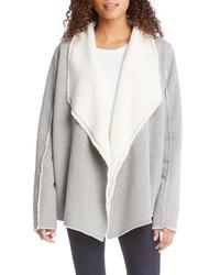 Grey Shearling Jacket
