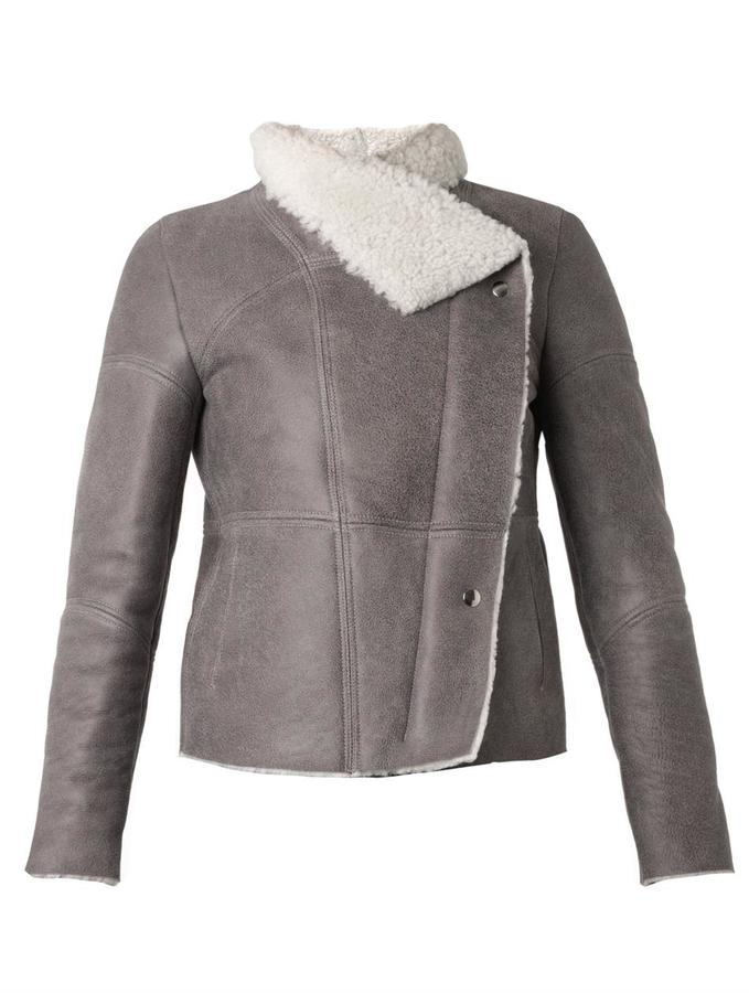 IRO Jemma Shearling Jacket | Where to buy & how to wear