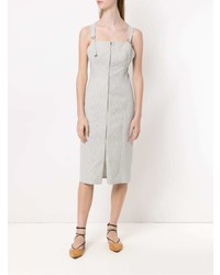 Tufi Duek Midi Striped Dress