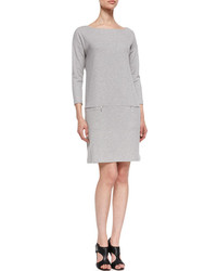 Grey shift dress original 10074824