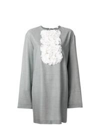Rouche bib shift dress medium 7694849