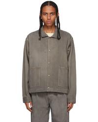 Taiga Takahashi Grey Coverall Jacket