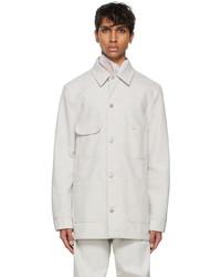 Maison Margiela Grey Denim Upcycled Jacket