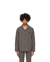 Saturdays Nyc Grey Lido Utility Jacket