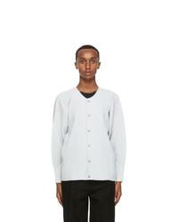Homme Plissé Issey Miyake Grey Pleated Jacket