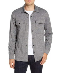 Nordstrom Men's Shop Regular Fit Knit Shirt Jacket