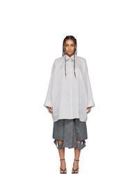 Acne Studios Grey Suky Shirt Dress