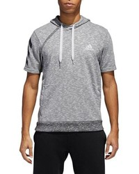 adidas Pick Up Shooter Short Sleeve Hoodie