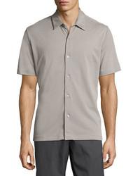 Theory Air Pique Short Sleeve Shirt