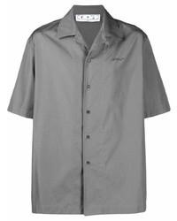 Off-White Caravaggio Painting Print Short Sleeve Shirt