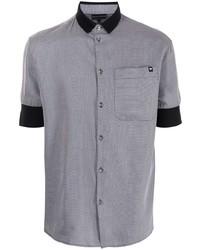 Emporio Armani Contrast Cuff Polo Shirt
