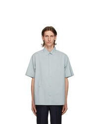Kenzo Grey Casual Short Sleeve Shirt