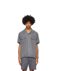 Saturdays Nyc Grey Gibson Double Pocket Shirt