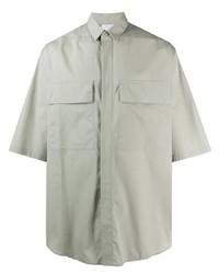 Ermenegildo Zegna Oversized Short Sleeve Shirt