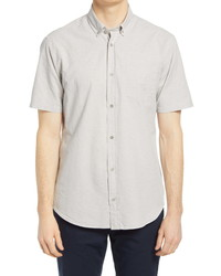 Tact & Stone Plaid Lightweight Organic Cotton Short Sleeve Shirt