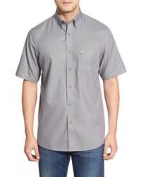Nordstrom Shop Classic Smartcare Regular Fit Short Sleeve Cotton Sport Shirt