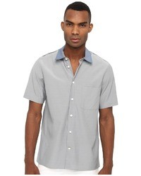 Marc Jacobs Short Sleeve Colorblock Button U Short Sleeve Button U