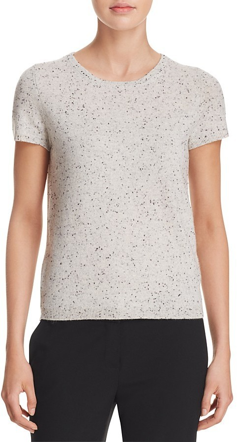 C By Bloomingdales Short Sleeve Cashmere Sweater 100% | Where to ...