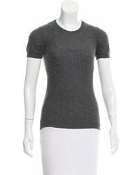Marni Cashmere Short Sleeve Sweater