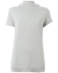 Fay Short Sleeved Turtle Neck Sweater