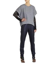 BCBGMAXAZRIA Tatum Short Sleeve Sweatshirt
