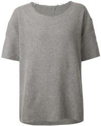 The Elder Statesman Short Sleeved Sweater