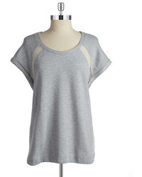 Vince Camuto Two By Short Sleeved Sweatshirt Pullover