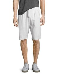 Helmut Lang Bound Seam Knit Shorts Gray