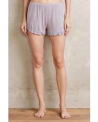 Cozii Ruffled Knit Shorts