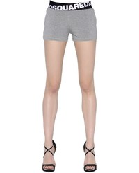 Dsquared2 logo waistband jersey shorts medium 737296