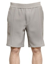 Emporio Armani Perforated Light Neoprene Shorts