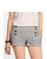 Express 2 Inch Linen Blend Sailor Shorts