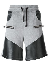 Just Cavalli Panelled Track Shorts