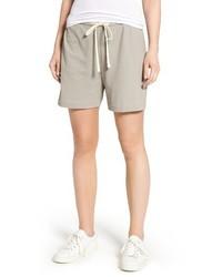 James Perse Matte Drawstring Shorts