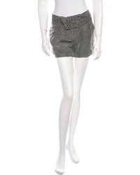 IRO Silk Embellished Shorts