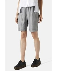 Topshop Tonic Rib Waist City Shorts