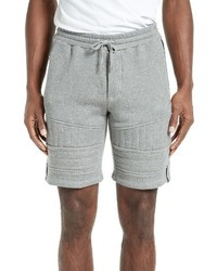The Kooples Zippers Fleece Shorts