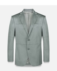 Christopher Kane Grid Single Breasted Tailored Jacket