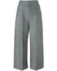Lanvin Cropped Wide Leg Trousers