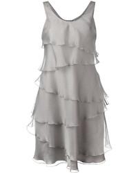 Armani Collezioni Frill Detail Dress