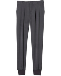 Rebecca taylor silk twill pant medium 16975