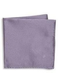 Armani Collezioni Tricolor Silk Pocket Square