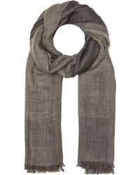 Faliero Sarti Marilena Wool Silk Scarf In Grey